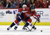 Ryan Callahan (24), Marcus Johansson.  Alex Brandon / The Associated Press