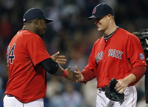 Lester pitches 1-hitter, Red Sox top Blue Jays 5-0
