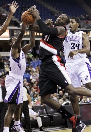 Thornton scores 23 to lead Kings past Blazers