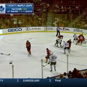 Roberto Luongo Save on Trevor Smith (01:59/1st)