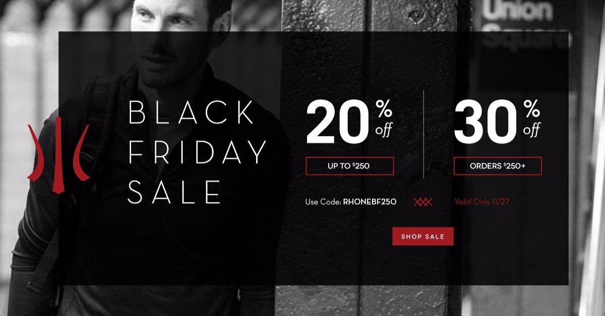 Black Friday Deal: Save Up To 30% Off