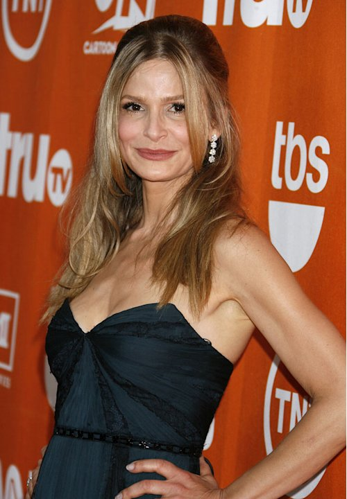 Kyra Sedgwick arrives at the Turner Broadcasting TCA Party at The Oasis Courtyard at The Beverly Hilton Hotel on July 11, 2008 in Beverly Hills, California.