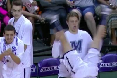 Monmouth's over-the-top bench celebrations are the most fun thing about college basketball