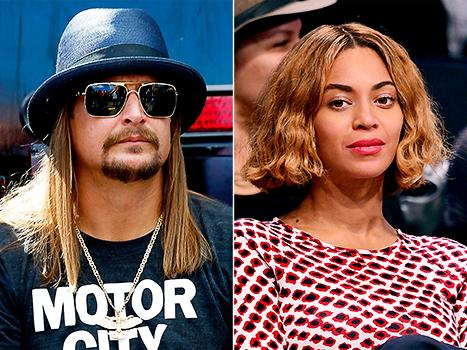 """Beyonce's Beyhive Swarms, Attacks Kid Rock After He Says He's """"Flabbergasted"""" by Her Success"""