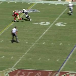 San Francisco 49ers wide receiver Bruce Ellington 19-yard reception