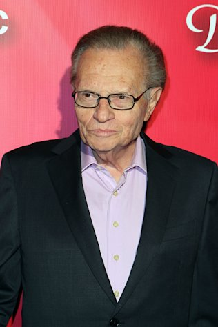 "Television personality Larry King arrives at the Keep Memory Alive 16th Annual ""Power of Love Gala"" honoring Muhammad Ali with his 70th birthday celebration on Saturday, Feb. 18, 2012, in Las Vegas. (AP Photo/Jeff Bottari)"