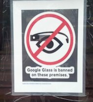 Why Google Glass Will Fail image Google Glass banned 276x300