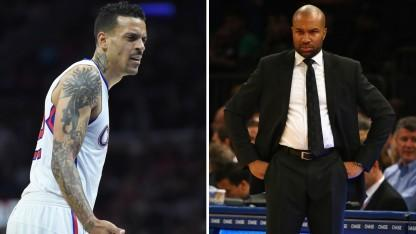 Grizzlies Player Matt Barnes Reportedly Angry Knicks Coach Derek Fisher Was With His Ex