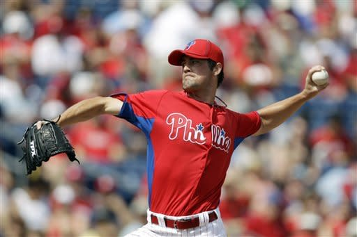 Paplebon perfect in Phils debut but Yanks win 8-5