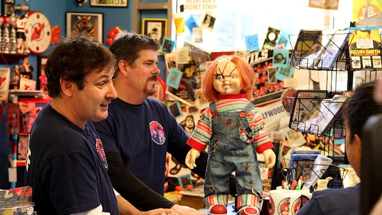 "Walt and Mike in ""Comic Book Men."""