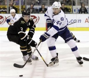 Purcell lifts Lightning past Stars, 2-1