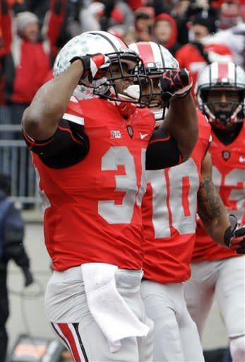 Undefeated: No. 4 Ohio State over No. 20 UM, 26-21