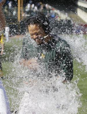 A's rally past Yankees 5-4 in 12 for 4-game sweep