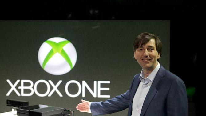 Don Mattrick, President of Interactive Entertainment Business at Microsoft unveils Xbox One on Tuesday, May 21, 2013, in Redmond, Wash. (Photo by Stephen Brashear/Invision for Microsoft/AP Images)