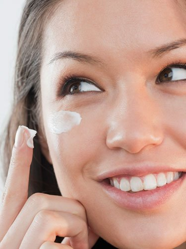 Habit: Applying heavy cream near your eyes