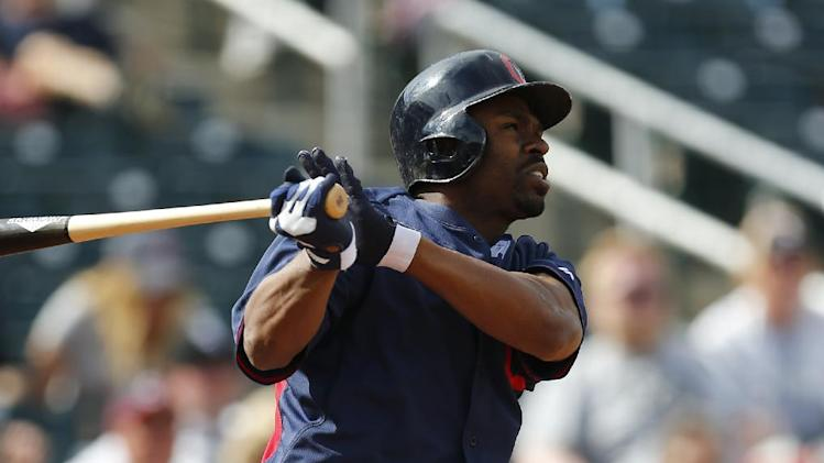 Indians activate OF Bourn