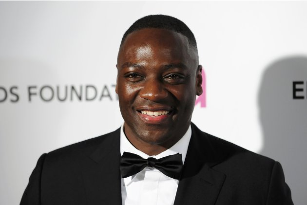 Actor Akinnuoye-Agbaje arrives at the 2013 Elton John AIDS Foundation Oscar Party in West Hollywood