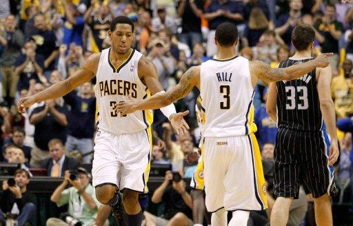 Danny Granger scored 25 points for the Indiana Pacers