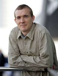 British author David Mitchell in 2007