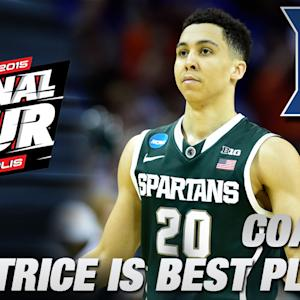 Coach K: MSU's Travis Trice is the Best in Tourney | Duke in the Final Four