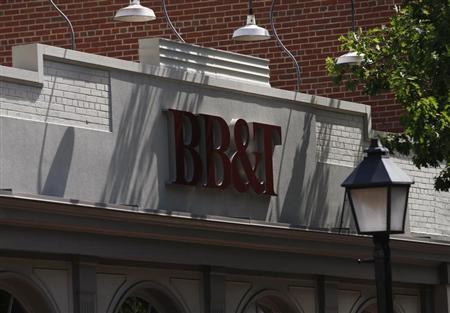 A BB&T bank is pictured in Alexandria, Virginia