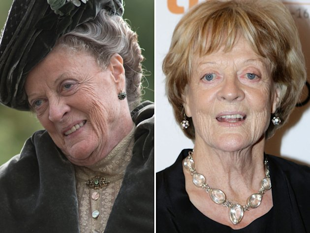 Maggie Smith (Violet, the …