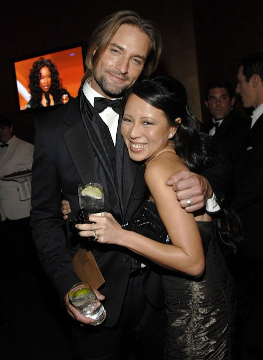 Josh Holloway and wife Yessica Kumala at the In Style and Warner Bros. 2007 Golden Globe After Party. 