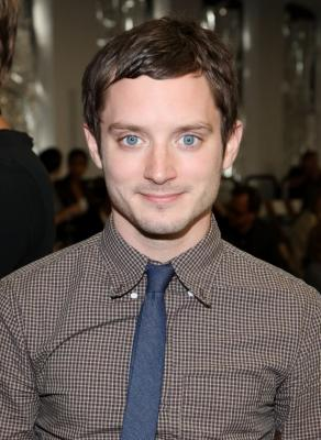 Elijah Wood attends the Rodarte Spring 2011 fashion show during Mercedes-Benz Fashion Week at Dia:Chelsea, NYC, September 14, 2010 -- Getty Images