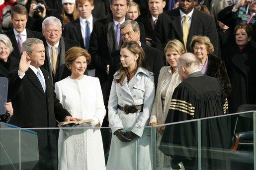 100 Years of U.S. Presidential Inaugurations