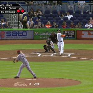 Stanton's RBI single