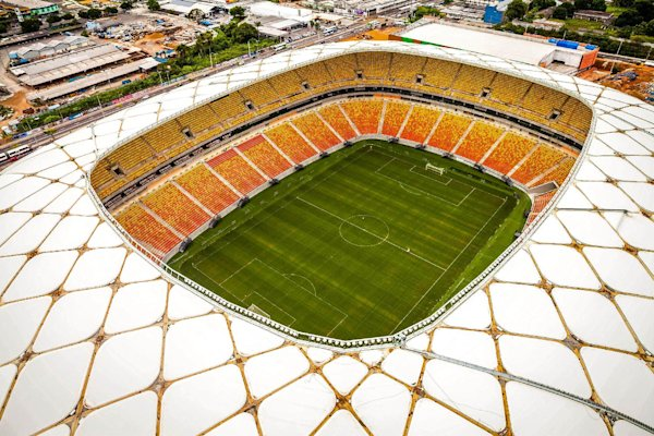 Fans report problems at new World Cup stadium