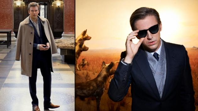 Dan Stevens in Town & Country magazine -- Town & Country