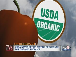 Is organic produce really chemical-free?