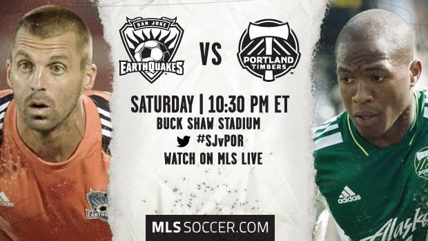 San Jose Earthquakes vs. Portland Timbers | MLS Match Preview