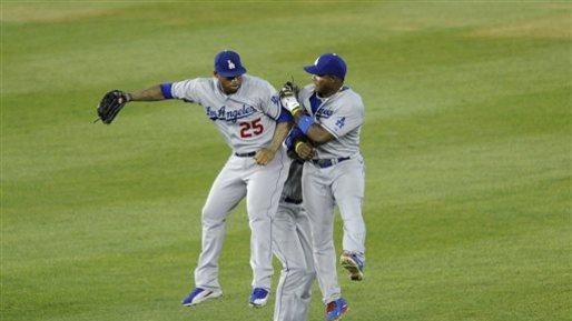 Ramirez doubles in 10th, Dodgers top Nationals 3-1