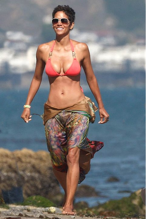 Halle Berry Malibu Bday
