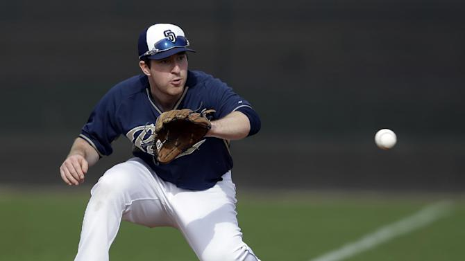 Gyorko has the power; Padres want the average, too