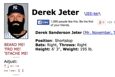 Baseball Reference has the only good April Fool's gag you'll see today