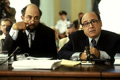 Richard Schiff and Danny DeVito in MGM's What's The Worst That Could Happen