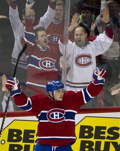 Eller's 5 points lead Canadiens over Jets