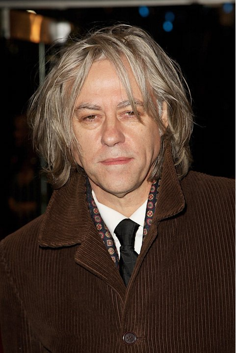 Quantum of Solace UK premiere 2008 Bob Geldof