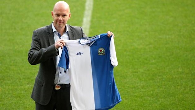 Henning Berg unveiling as Blackburn manager