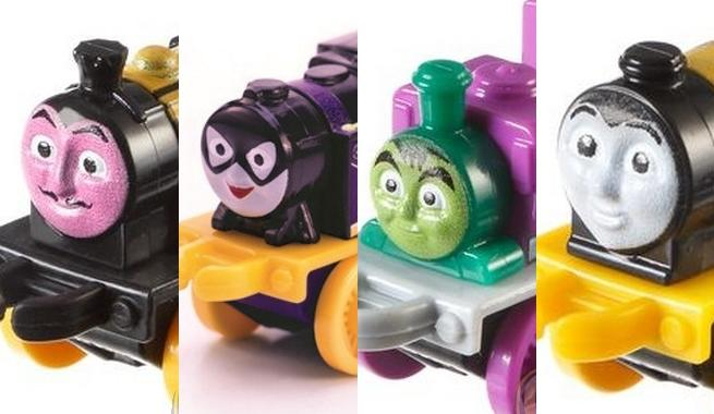 New DC Comics & Thomas The Tank Engine Mash-Up Collectibles Revealed
