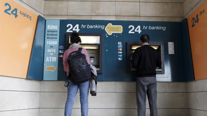 Cyprus: cash withdrawals capped at 300 euros