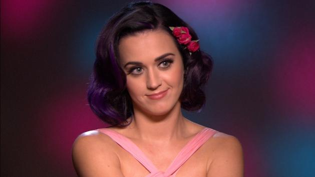 Katy Perry chats with Access Hollywood at the junket for 'Katy Perry: Part of Me' on June 21, 2012 -- Access Hollywood