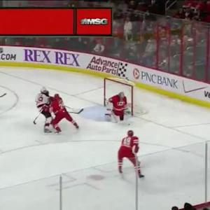 Cam Ward Save on Jordin Tootoo (08:18/3rd)