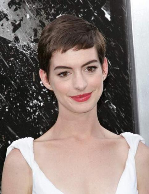 Anne Hathaway attends the 'The Dark Knight Rises' World Premiere at AMC Lincoln Square Theater on July 16, 2012 in New York City -- Getty Images