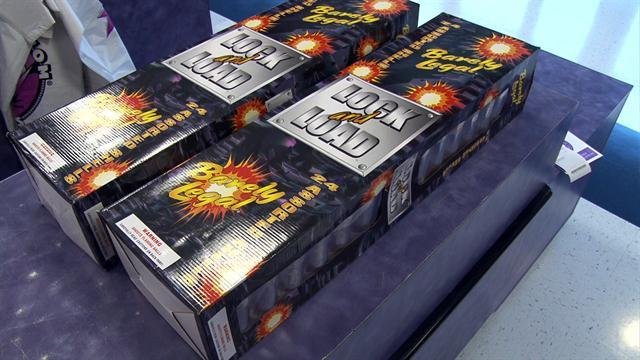 Bombing suspect bought fireworks before attack