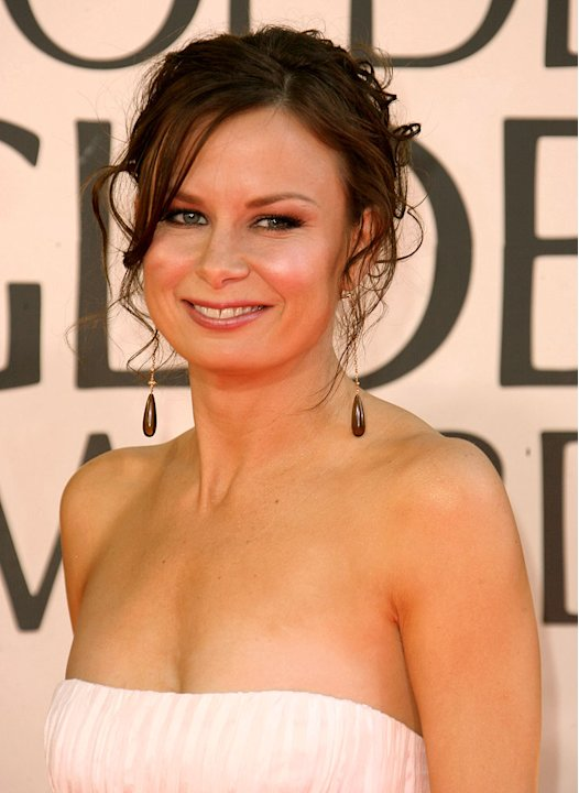 Mary Lynn Rajskub at the 64th annual Golden Globe Awards.