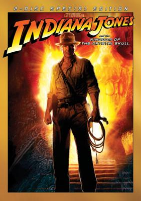 Box art for the 2-disc special edition DVD of Paramount Pictures' Indiana Jones and the Kingdom of the Crystal Skull